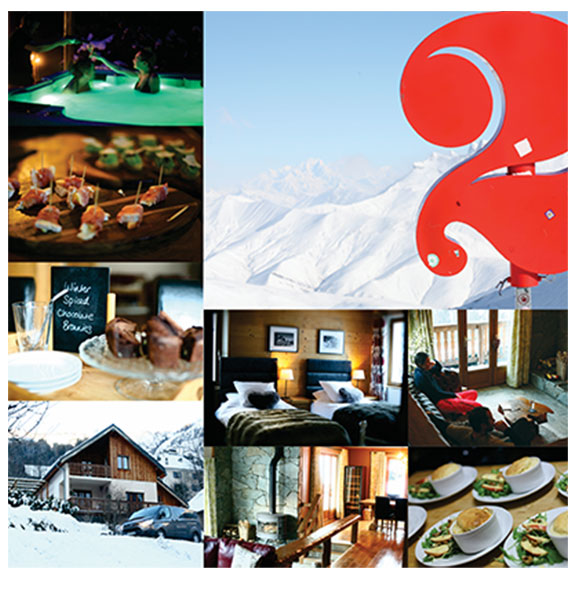 Chalet Morville photography shoot, Les Deux Alpes, France