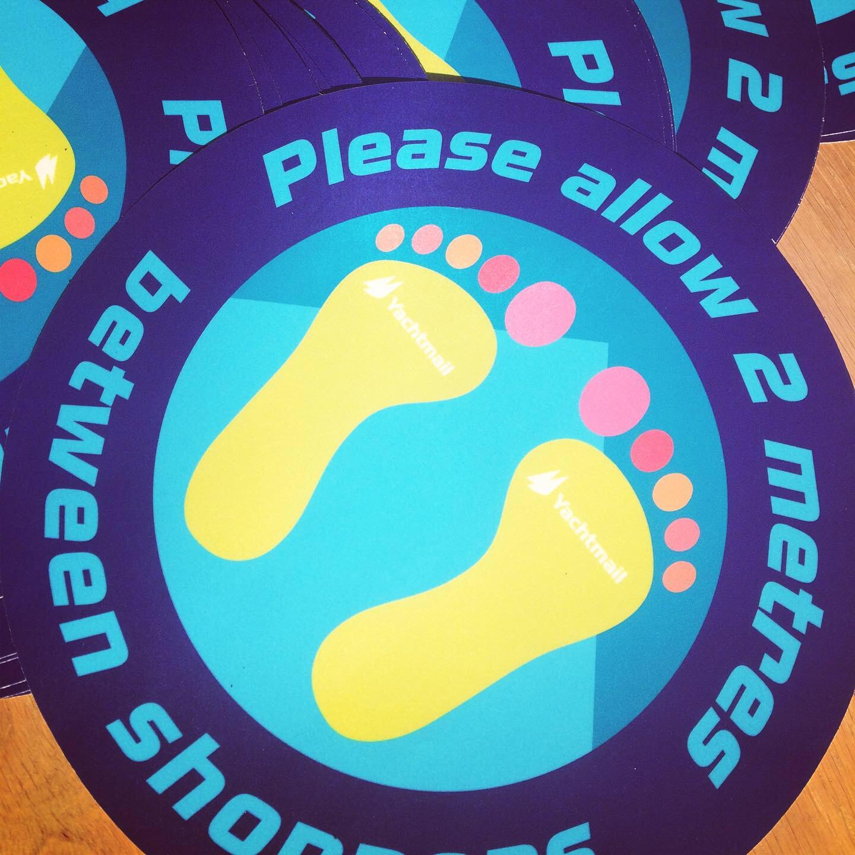 Kifi floor stickers