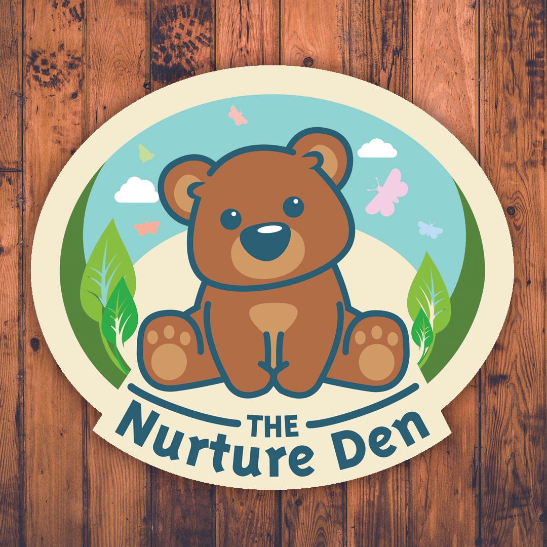 nurture den logo design